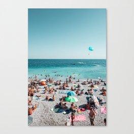 Ooh La La French Riviera Canvas Print