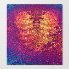 Arboreal Vessels - Heart Breath Canvas Print