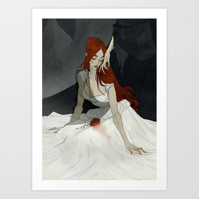 Stay Here With Me Art Print