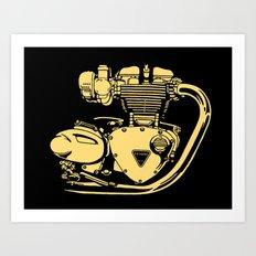 A&J Cycles New York Art Print