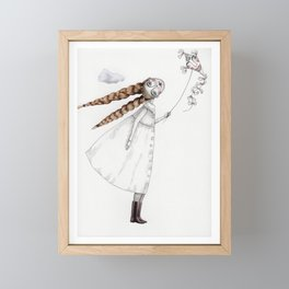Picture Two:  The Kite Framed Mini Art Print