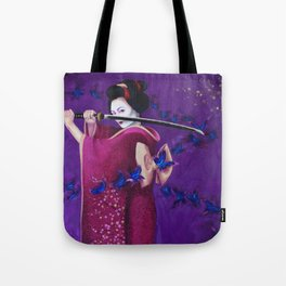 Geisha Warrior Tote Bag