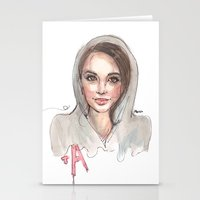 pretty little liars Stationery Cards featuring Pretty Little Liars by deepfriedfreckles