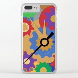 tick tock Clear iPhone Case
