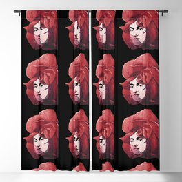 FRIDA the ROSE Blackout Curtain
