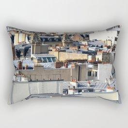 Toits de Paris Rectangular Pillow