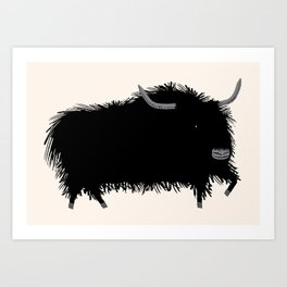 The Yak Art Print