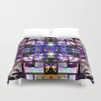 hologram Duvet Covers featuring BETH DITTO by Riot Clothing