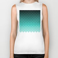 ombre Biker Tanks featuring Ombre squares by eARTh