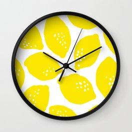 The Zest Around Wall Clock