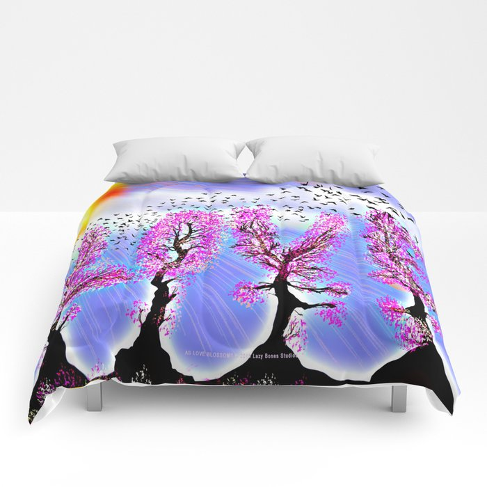 AS LOVE BLOSSOMS - 051 Comforters