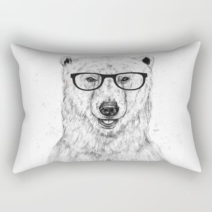 Geek bear Rectangular Pillow