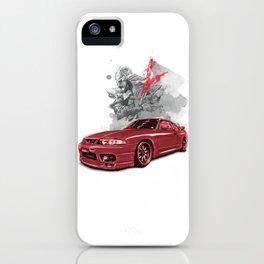 Nissan Skyline GTR 33 iPhone Case