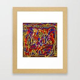 Laberinto 3 Framed Art Print