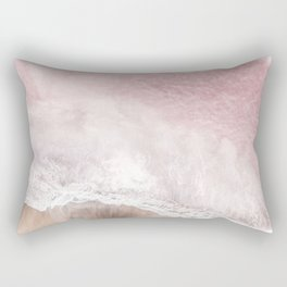 Pink Sea Rectangular Pillow