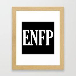 ENFP Framed Art Print