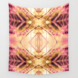 PINK SPANGLES no9-R1 Wall Tapestry