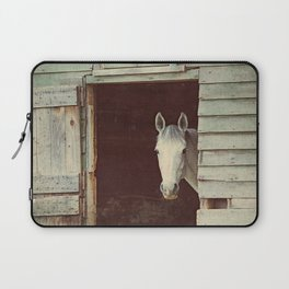 Peekaboo Mare // Horse Laptop Sleeve