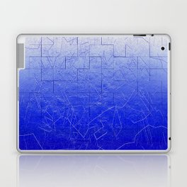 Blue Art Assembly Laptop & iPad Skin