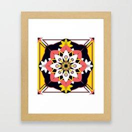 Poppy Blossom Framed Art Print