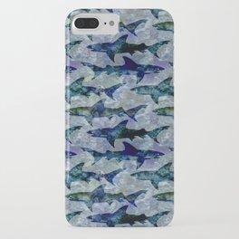 Deep Water Sharks iPhone Case