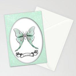 Actias luna Stationery Cards
