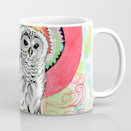 Owl Dreamcatcher Dream Coffee Mug
