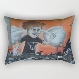 the babel Rectangular Pillow