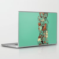 zombies Laptop & iPad Skins featuring Zombies by SarahRobbins