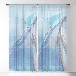 Language of Elegance Sheer Curtain