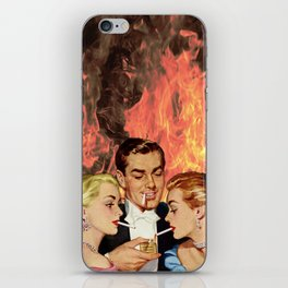 Burning For You iPhone Skin