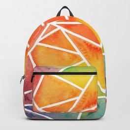 Rainbow Watercolor Backpack