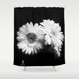 Black White Photography Shower Curtains