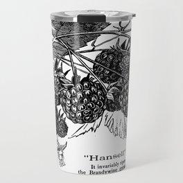 "'Hansell"" Raspberries 1886 Travel Mug"