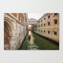 Venice's sunset Canvas Print