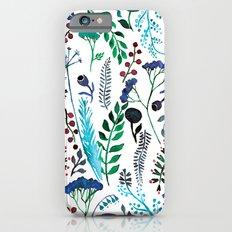 Plant pattern Slim Case iPhone 6s