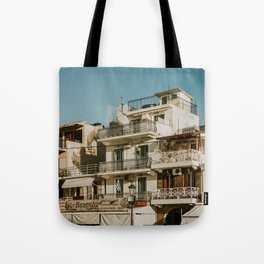 The roofs of Zakynthos Tote Bag