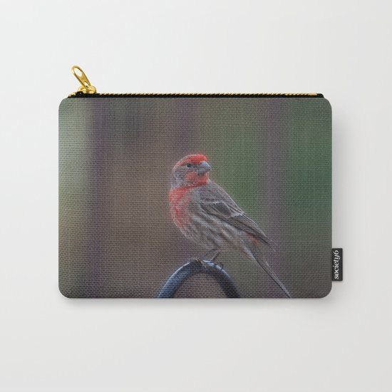 Pretty Bird - House Finch Carry-All Pouch
