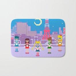 .:Tiny pixel series:. Sailor Moon Bath Mat