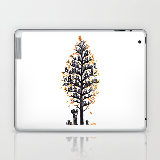 Hoot Lodge Laptop & iPad Skin