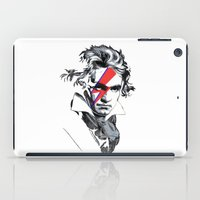 beethoven iPad Cases featuring Bowie Beethoven by Komrod