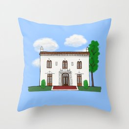 Concord Historical Society Throw Pillow