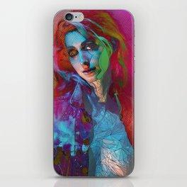 Galaxy Grunge iPhone Skin