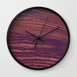 Lifeline Acrylic Pour 2257 Wall Clock