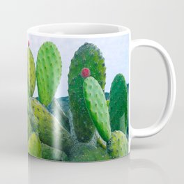 Blooming cacti Coffee Mug