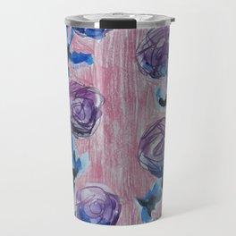 Rose Petals Series Paintings Travel Mug