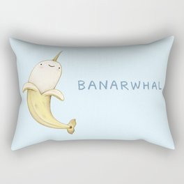Banarwhal Rectangular Pillow
