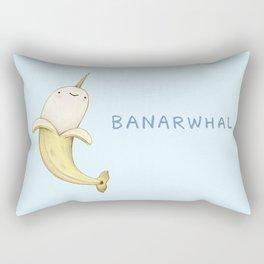 Banarwhal Rectangular Pillow