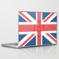 england Laptop & iPad Skins featuring  England by XKbeth