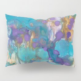Blue Blossom Pillow Sham